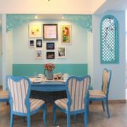 简约风格餐厅背景墙装饰