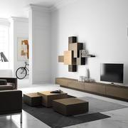 都市风格客厅电视柜装饰