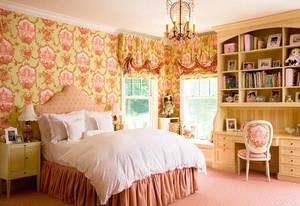 儿童房卧室背景墙装饰