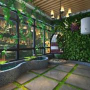 阳台绿化布置图片