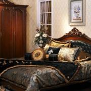 美式温暖卧室图片