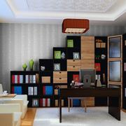 书房个性书柜展示