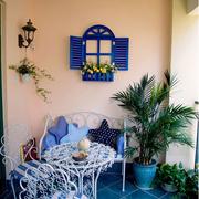 地中海风格的阳台