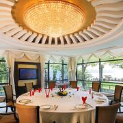 欧式风格饭店包厢吊顶装饰