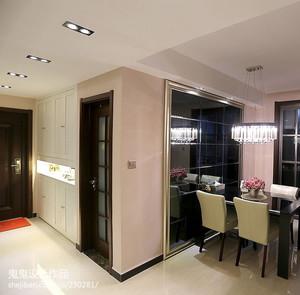 120平米现代都市客厅走廊吊顶装修效果图