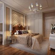 欧式风格奢华软包卧室背景墙装饰