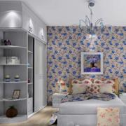 小户型简约风格卧室背景墙装饰