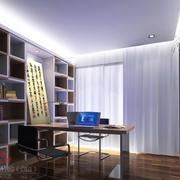 简约现代化的书房