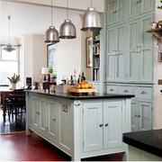 美式简约风格厨房整体式