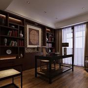 别墅中式典雅书房