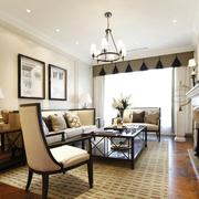 浅色系优雅的客厅