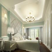 现代大户型的卧室吊顶
