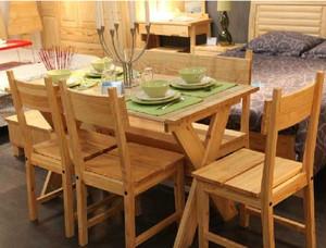 原木色小型餐桌