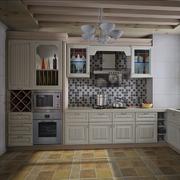 家居实用型厨房橱柜