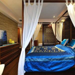120平米东南亚风格3居装修效果图