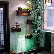 入户花园简单绿化装饰