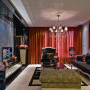 欧式风格经典电视背景墙装饰