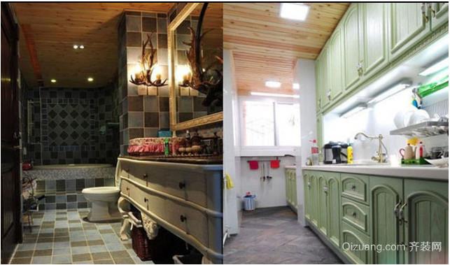 地中海小户型厨房装修效果图