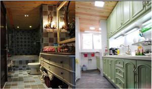 韩式清新风格厨房橱柜装饰