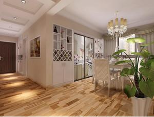现代简约风格客厅酒柜装饰