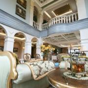 欧式风格别墅奢华客厅沙发装饰
