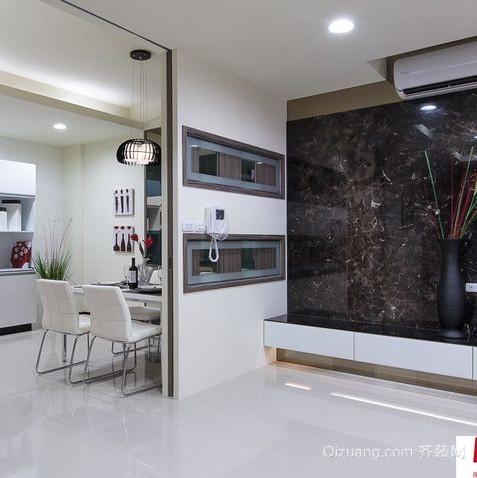2015现代厨房餐厅隔断吊顶效果图