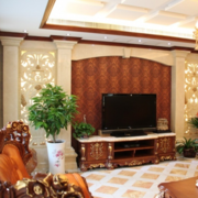 客厅美式电视柜
