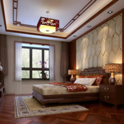 新中式风情的卧室