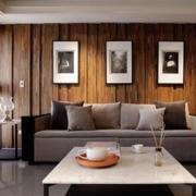 简约风格客厅大理石茶几装饰