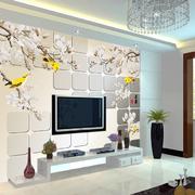 现代化3D客厅背景墙装饰