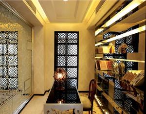 欧式奢华风格书房装饰