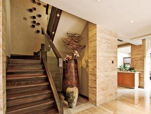 别墅深色系楼梯欣赏