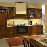 厨房美式大橱柜