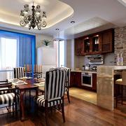 典雅的家居厨房设计