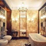 奢华风格卫生间浴缸装饰