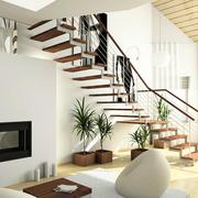 小资情调的别墅楼梯