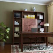新中式风情的书房