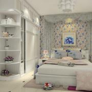 韩式清新风格卧室衣柜装饰