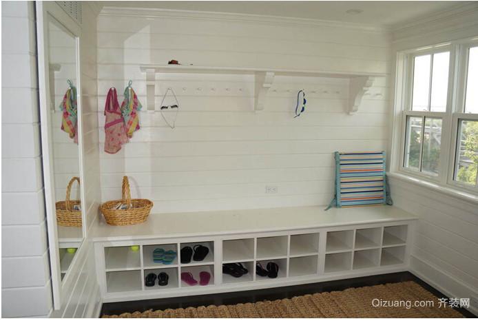 美式式小户型鞋柜装修效果图