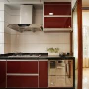 韩式简约风格厨房推拉门装饰