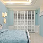美式卧室简约背景墙装饰