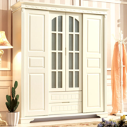 欧式风格奢华卧室衣柜装饰