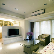 90平米房屋客厅简约风格沙发装饰