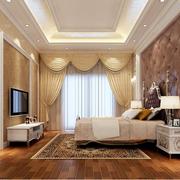 欧式简约风格卧室墙纸装饰