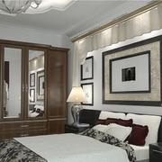 后现代风格卧室床头装饰