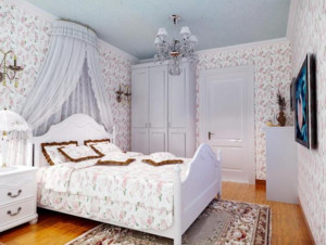 小户型田园卧室装潢