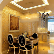 欧式奢华风格餐厅装饰