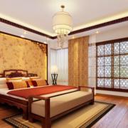 精致温馨中式卧室