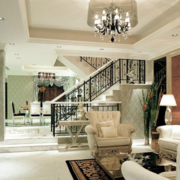 复式楼简约风格客厅装饰