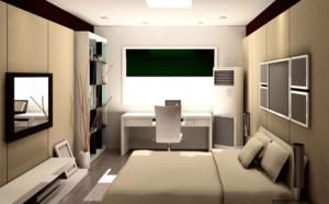 全新三室一厅后现代风格卧室装修效果图